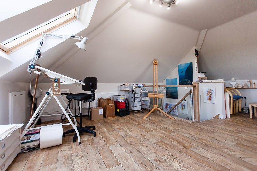 crafts room loft conversion