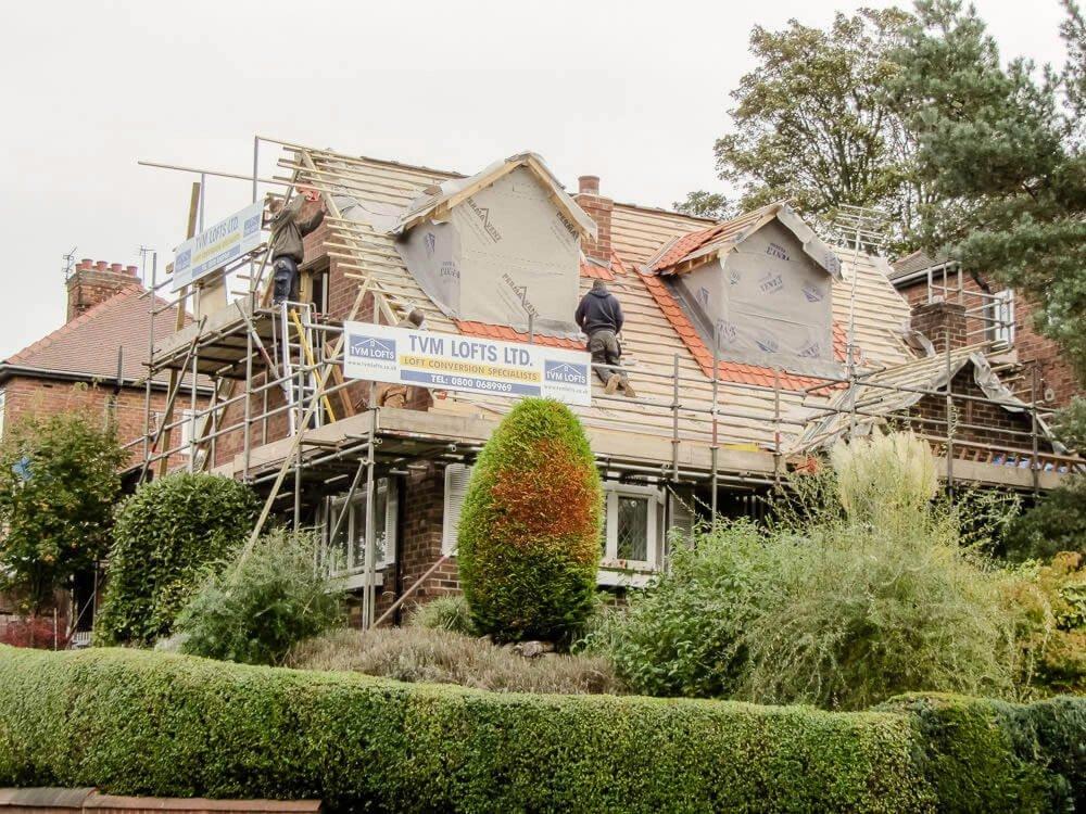 Bunglalow roof raise in York