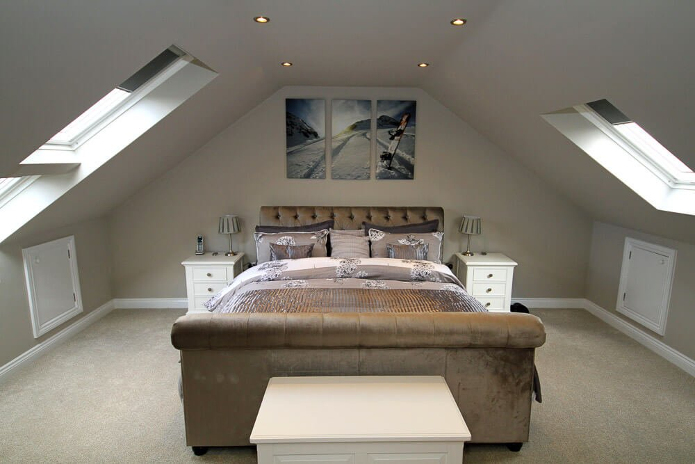 truss bedroom conversion