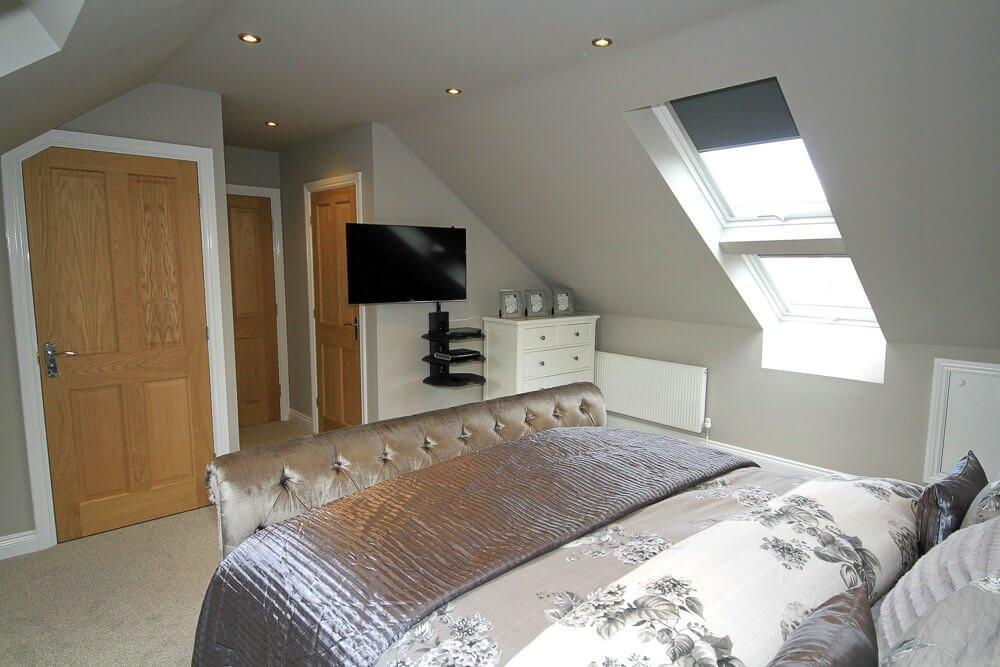 truss bedroom conversion