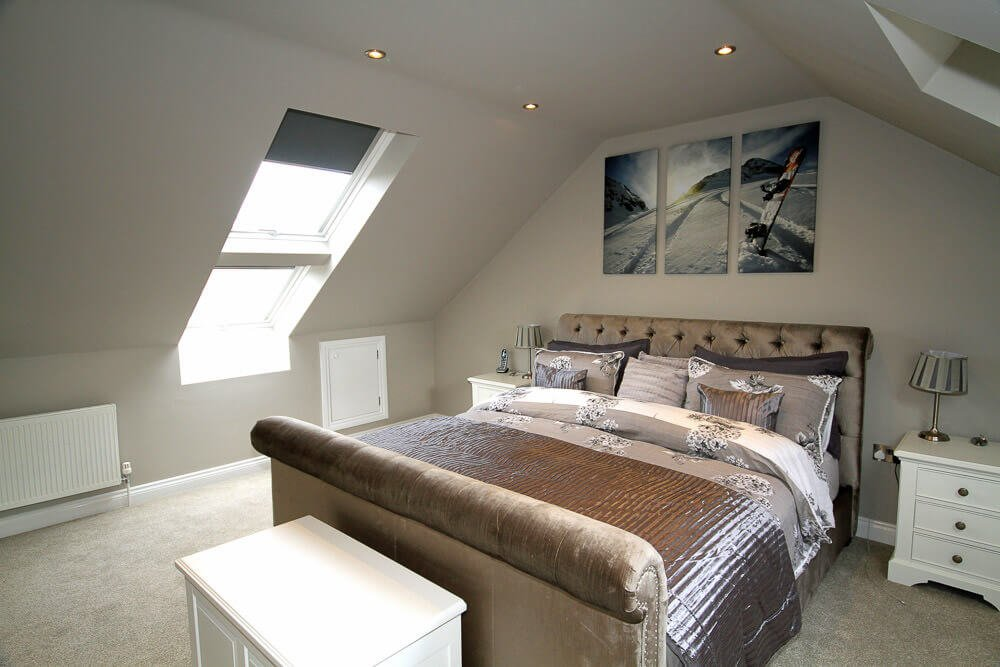 truss bedroom loft conversion