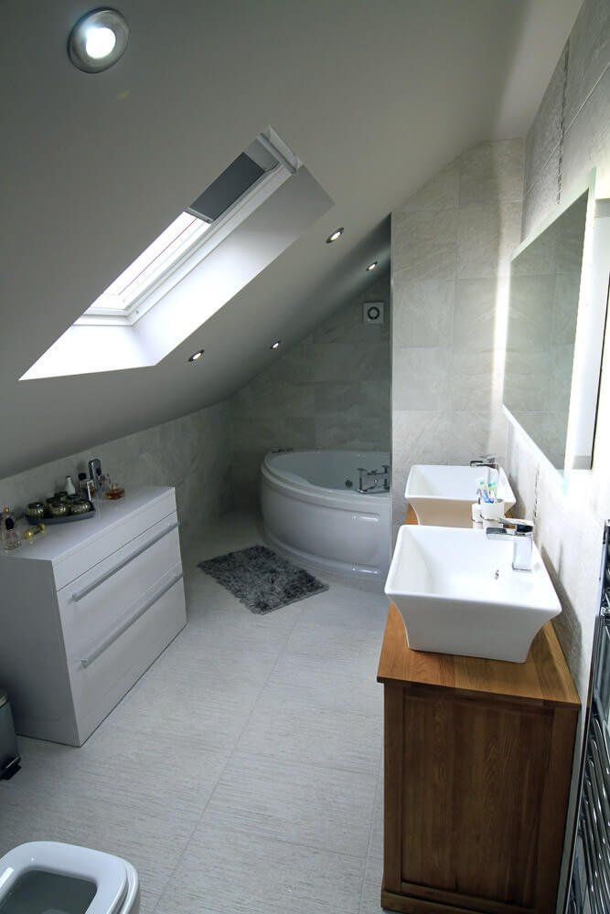 truss bathroom loft conversion