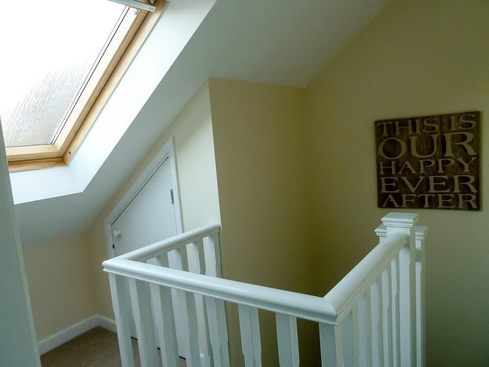 truss loft conversion bedroom