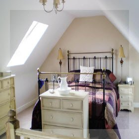truss loft conversion bedroom