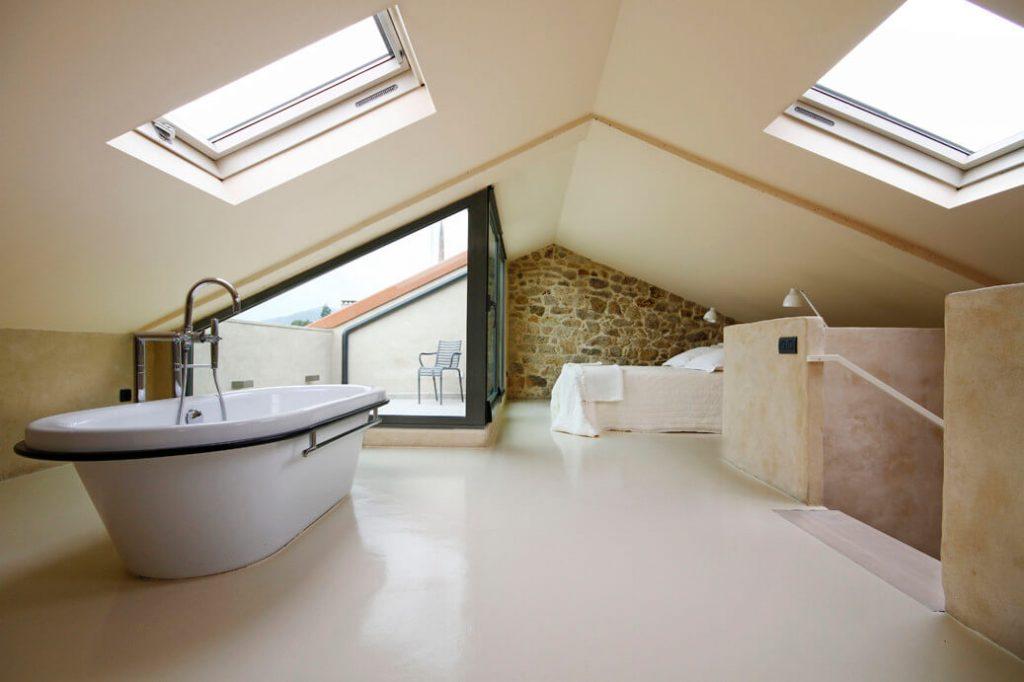 bathroom loft conversion interior design