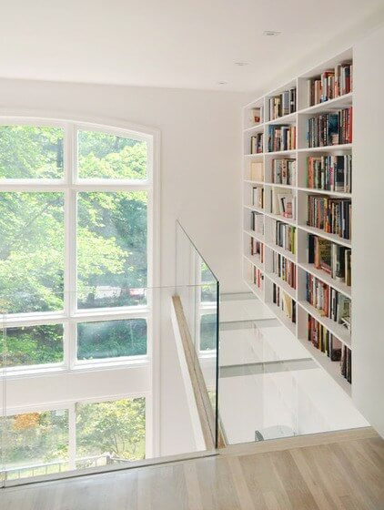 loft conversion design bookshelf