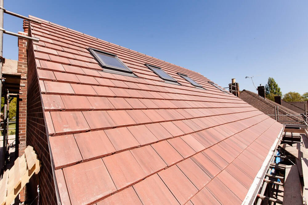 roof lift tiles complete with windows