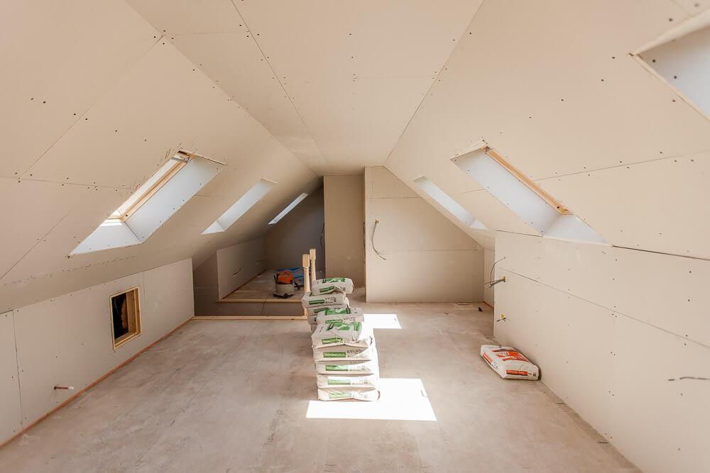 roof lift loft conversion inside