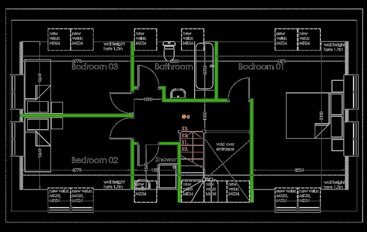 roof lift design plan