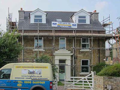 roof lift loft conversion